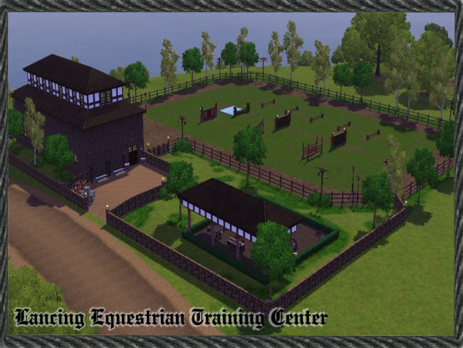 Sims 3 Equestrian Center - Bing images